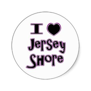 Jersey Girl Stickers, Jersey Girl Sticker Designs