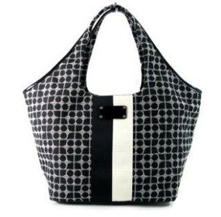 Kate Spade Classic Noel Large Tate Bag Purse Tote Black