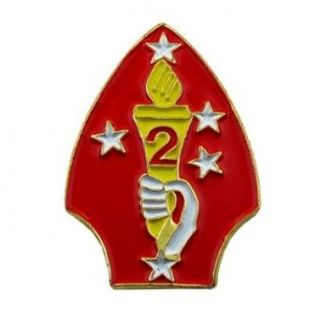 U.S. Marine Corps 002nd Division Pin Clothing
