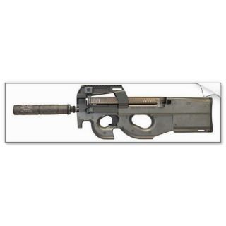 Bumper Sticker   P90 w/Silencer