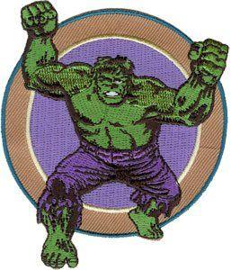 Marvel Comics Retro Incredible Hulk Arms Patch P 3353