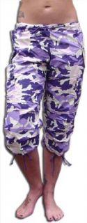 Girls UFO Shorts (Purple Camo) Clothing