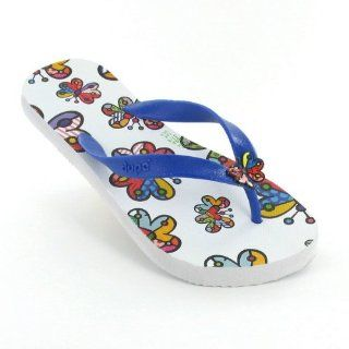 Romero Britto Flip Flops By Dupe   Butterfly   USA Shoes