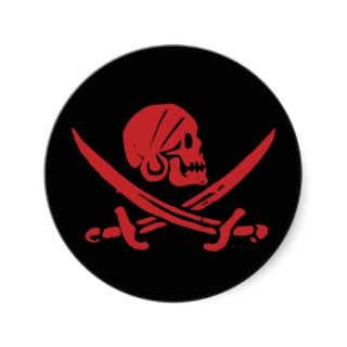 Pirate Swag Stickers