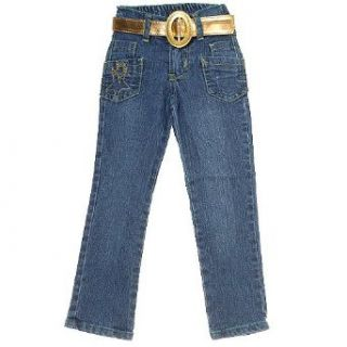 New GeGe Toddler Girls Clothes Denim Blue Jeans Girl 2T
