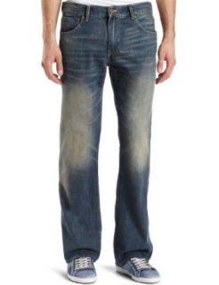 Levis Mens 527 Boot Cut Two Tone Zip Jean, Sunworship