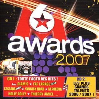 M6 AWARDS 2007   Achat CD COMPILATION pas cher Soldes