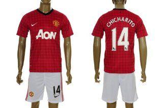Manchester United 2012   2013 CHICHARITO Home Jersey Shirt