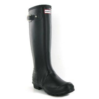 Hunter Original Black Womens Boots Shoes