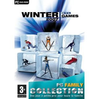 GAMES 2007 / Jeu PC DVD ROM   Achat / Vente PC WINTER GAMES 2007