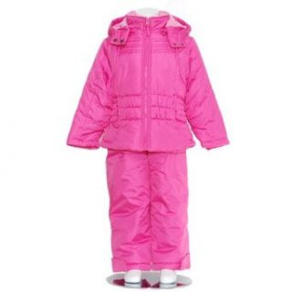Valteena Pink Puffer Coat Snow Pants Baby Toddler Little
