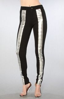 style stalker The Heavy Metal Pant in Silver,4,Silver