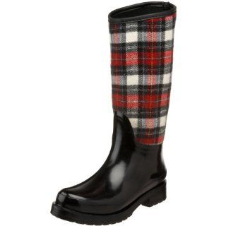Cougar Womens Revere Waterproof Riding Boot, Black/Red, 6 M US Shoes
