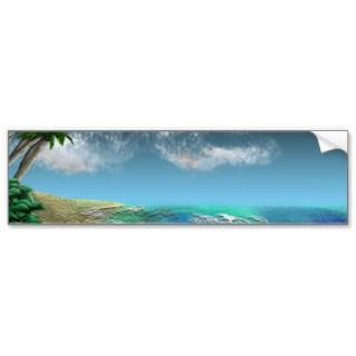 Afternoon Surf Bumper Sticker