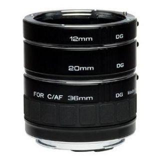 Kenko 3 Tubes allonge (12/20/36mm) pour Nikon   Achat / Vente OPTIQUE