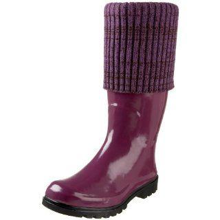 Nomad Womens Hail Rain Boot,Plum,10 M US Shoes