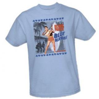 Blue Hawaii Poster    Elvis Presley Adult T Shirt