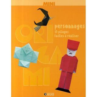 Mini origami personnages ; 15 pliages faciles à  Achat / Vente