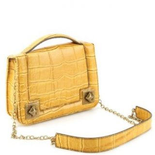 Jessica Simpson Bella Flap Crossbody Bag  Lemon Clothing