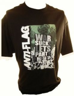 Anti Flag T Shirt   War Sucks, Lets Party: Clothing