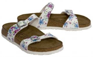 New Birkenstock Tahiti Hawaii Wht Ladies 37 N 6 Shoes