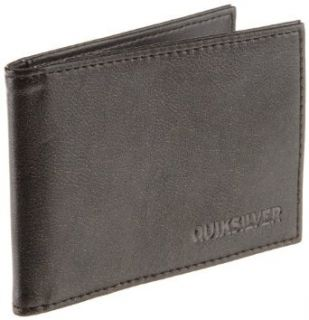 Quiksilver Mens Wall Street Wallet, Dark Vintage Brown