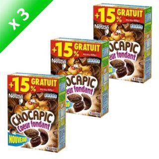NESTLE Chocapic 3x430gr +15% gratuits   Achat / Vente CÉRÉALES PETIT