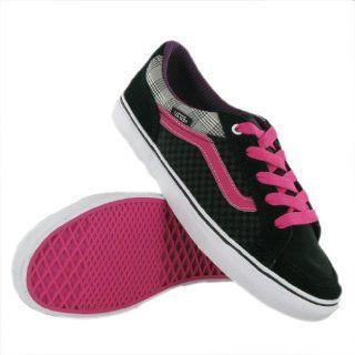 Vans Aubree Slim Black Pink Womens Trainers Size 11 US Shoes