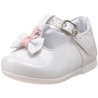 Strap Flat (Infant/Toddler),Blanco (304),16 EU (0 M US Infant) Shoes