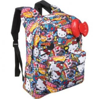 Hello Kitty SANBK0055 Backpack,Red/White/Blue/Yellow/Black