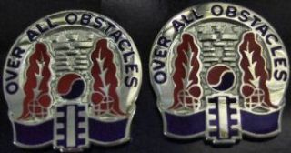565th ENGR BATALLION Distinctive Unit Insignia   Pair