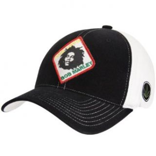 Bob Marley   One Love Fitted Baseball Cap Clothing
