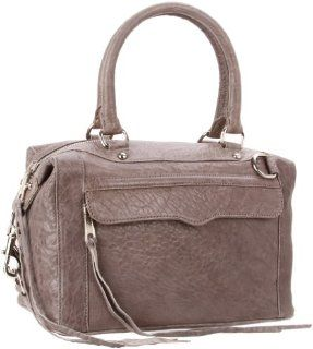 Minkoff Mab mini silver hardware Shoulder Bag,Grey,One Size: Shoes