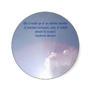 Precious Moments Round Sticker