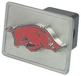 Arkansas Razorbacks Trailer Hitch Cover
