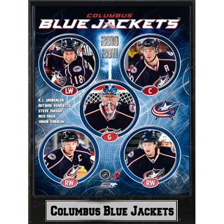 Columbus Blue Jackets 2010 Stat Plaque Today $24.99