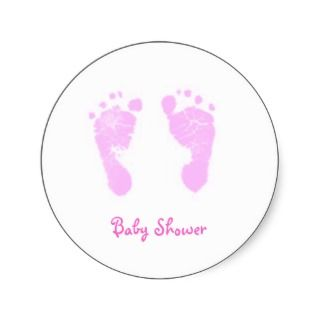cute and trendy baby shower envelope stickers