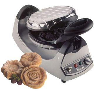 VillaWare V2009 Petite Flower Gravity Waffle Maker