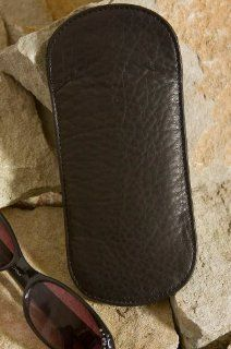 Leather Glasses Case, BLACK, Size 1 SIZE Shoes