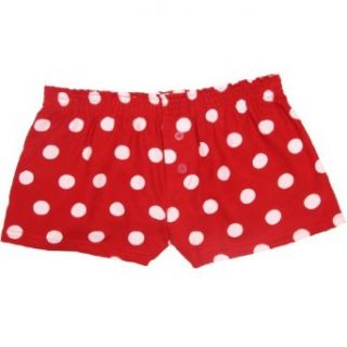 Boxercraft Red Hot Spot Polka Dot Flannel Bitty Boxer