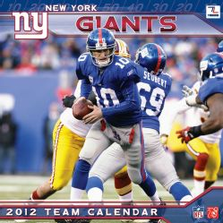 New York Giants 2012 Calendar (Calendar)