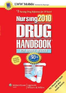 Nursing 2010 Drug Handbook for Mobile Devices (Mixed media product