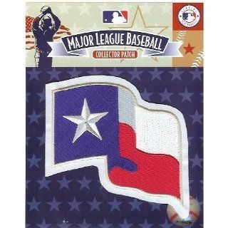 Texas Rangers Flag MLB Team Logo Patch Sports & Outdoors