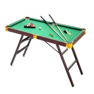 Voit 48 Mini Pool Table with Accessories Sports