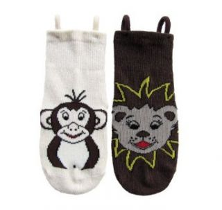 Kid Animal Socks 2 Pair Pack Fun learning socks with