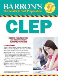 CLEP Buy Study Guides, Books Online