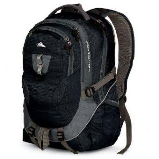 High Sierra Rushmore Backpack,Black/Charcoal Clothing