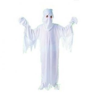 Ghost Robe and Hood Child Costume Size Medium (8 10