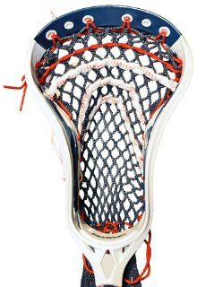 Stick Doctor Lacrosse Mesh Stringing Kit   USA (Navy/Red