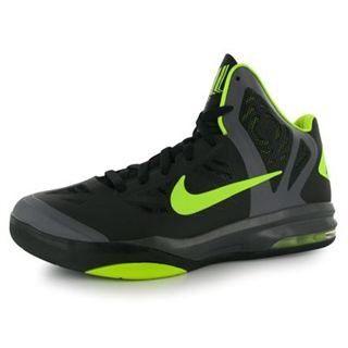 MAX HYPERAGGRESSOR BASKETBALL SHOES 10.5 (BLACK/VOLT/DARK GREY) Shoes